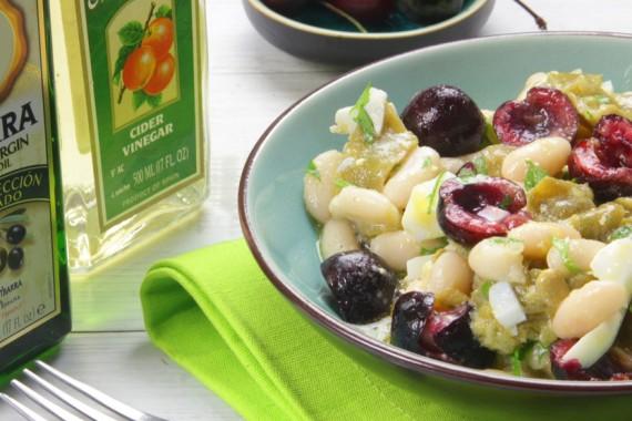 Ensalada caprese de sand a con vinagreta de manzana ybarra 4 - Judias verdes ybarra ...