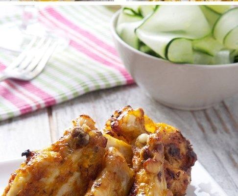 alitas de pollo con salsa gaucha Ybarra