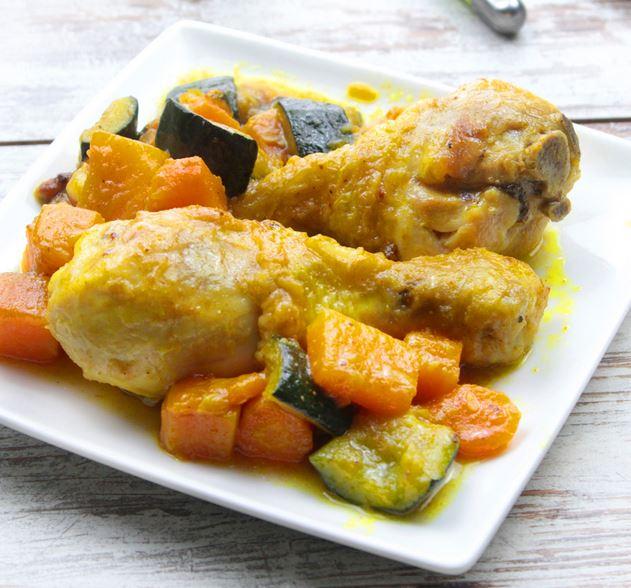 receta ybarra de pollo al curry