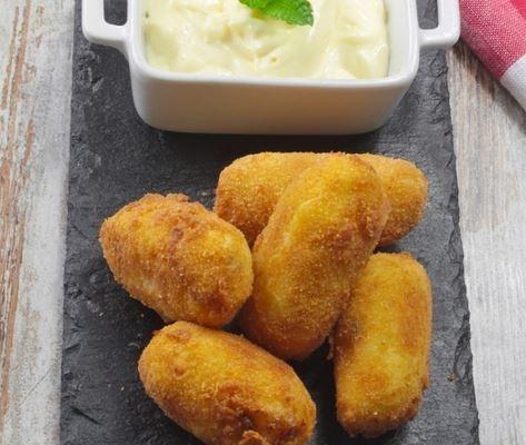 croquetas de patatas ypescado