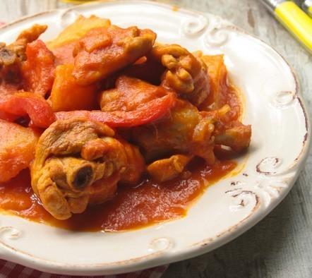 receta ybarra de pollo con tomate