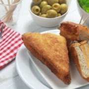 recetas ybarra de sándwich empanado