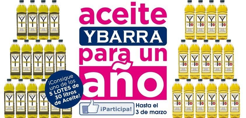Aceite de oliva Ybarra