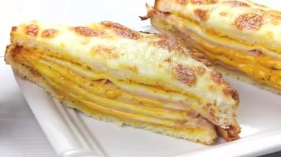 Sándwich de Pollo y Queso con Salsa Gaucha Ybarra