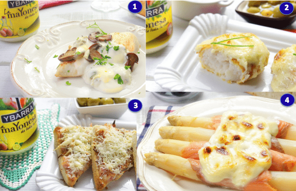 trucos y gratinados mayonesa ybarra