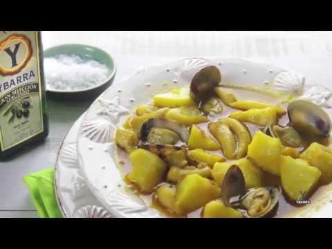 Guiso Marinero de Patatas con Chocos y Aceite de Oliva Virgen Extra Ybarra
