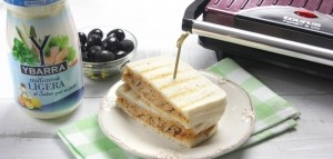 receta ybarra sandwich de atun y mayonesa