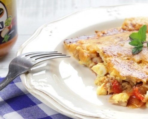 Empanada de Pisto Ybarra y atún