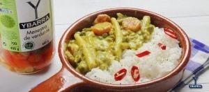 Curry de verduras Ybarra