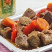 estofado de cerdo agridulce con vinagre Ybarra