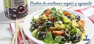 Aceitunas Ybarra con aguacate