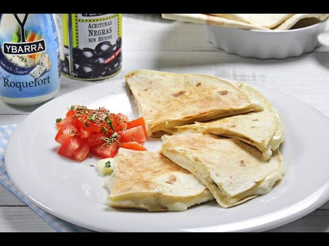Quesadillas 4 quesos