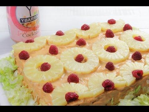 Pastel Ybarra de Cocktail de Marisco