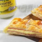 receta ybarra de trenza de york queso hojaldre y mayonesa ybarra