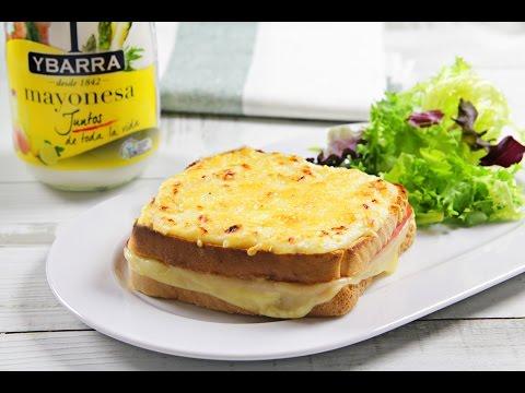 Sándwich croque monsieur