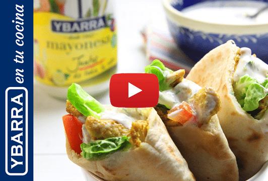 Kebab de pollo Ybarra