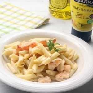 Macarrones con mayonesa picantona