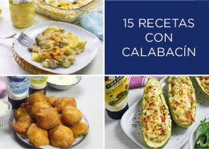 15 recetas con calabacín