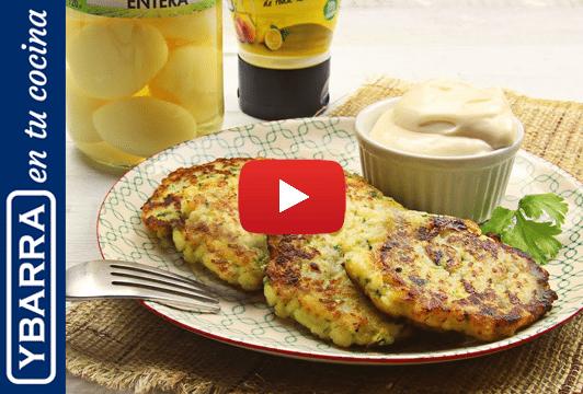 Tortitas de patata y calabacín