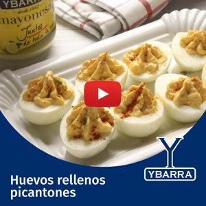 Huevos rellenos picantones