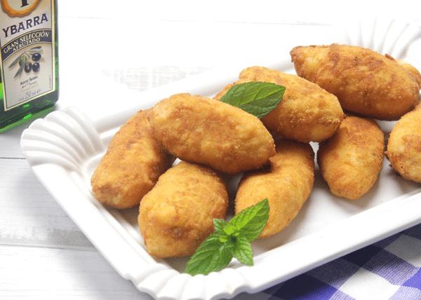 recetas ybarra de croquetas de pollo asado