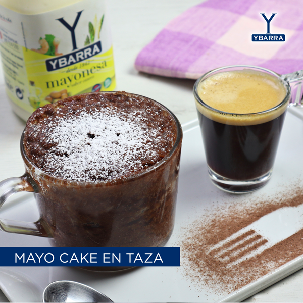 Mayo Cake a la taza