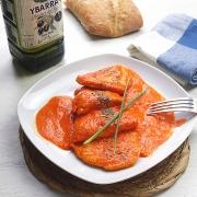 recetas ybarra de pollo con salsa al piquillo