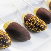 recetas ybarra de polos de platano con chocolate
