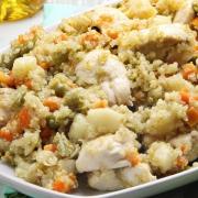 recetas ybarra quinoa con pollo de verduras