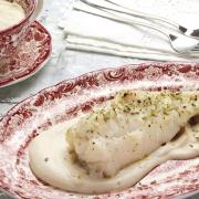 recetas ybarra rape con crema de coliflor