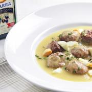 receta Ybarra albondigas en salsa
