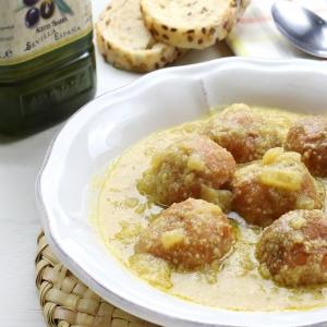 recetas ybarra albondigas con salsa de almendras y aceite virgen extra