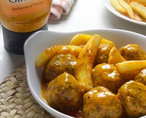 recetas ybarra albondigas con salsa gaucha