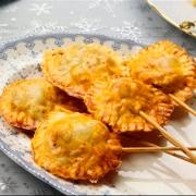 aperitivos de navidad recetas ybarra piruletas de manzana y morcilla