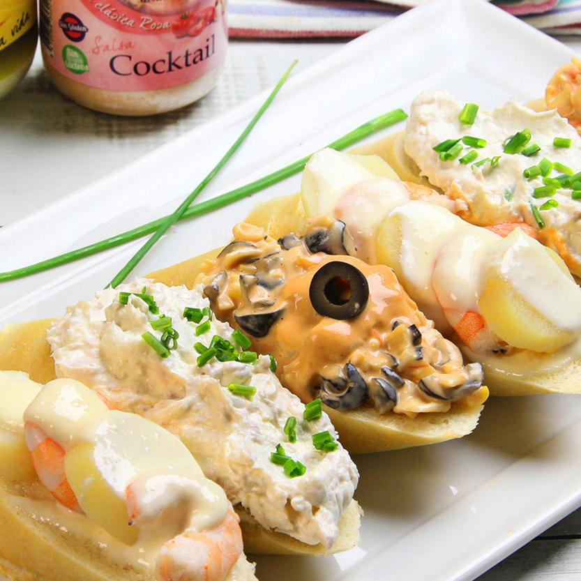 recetas-ybarra-aperitivos-variados-cocktail-mayonesa