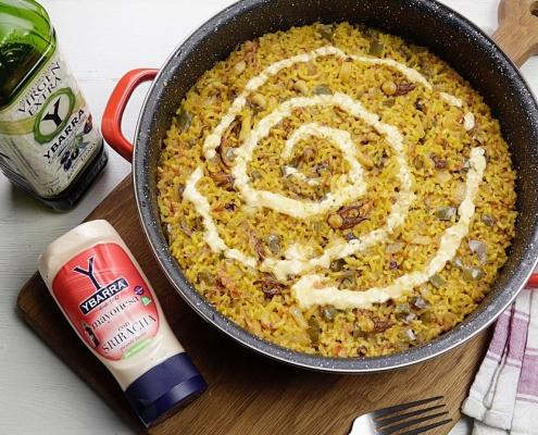 receta ybarra de arroz con calamares