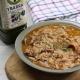 arroz caldoso con chipirones y chirlas