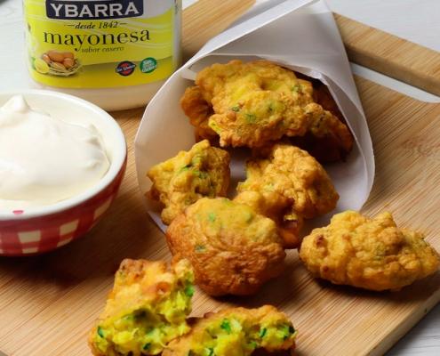 recetas-ybarra-bunuelos-calabacin-mayonesa