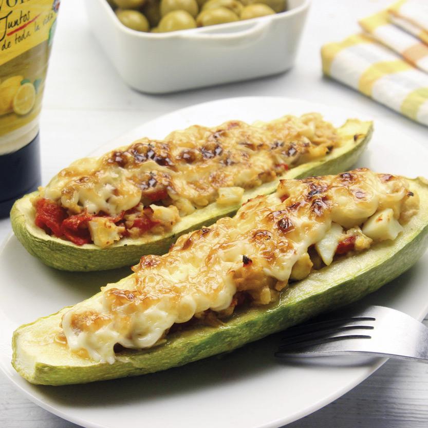 recetas-ybarra-calabacines-rellenos-atun-pimientos-mayonesa