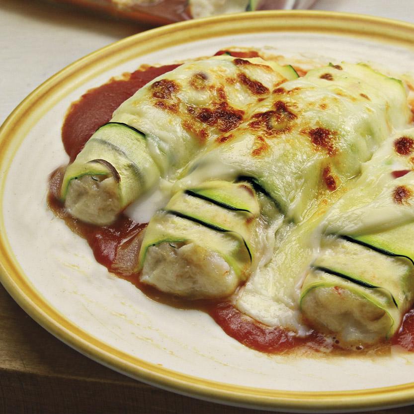 recetas ybarra de canelones de calabacin gratinados con mayonesa