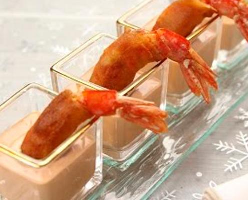 recetas ybarra chupito de langostino en salsa cocktail