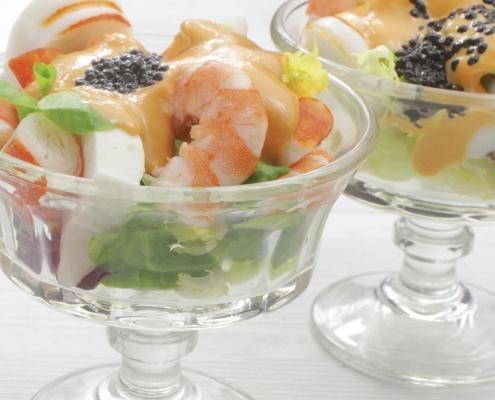 recetas ybarra cocktail de marisco con salsa cocktail