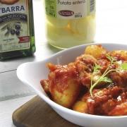 recetas ybarra conejo con tomate y patata entera de aceite virgen extra afrutado
