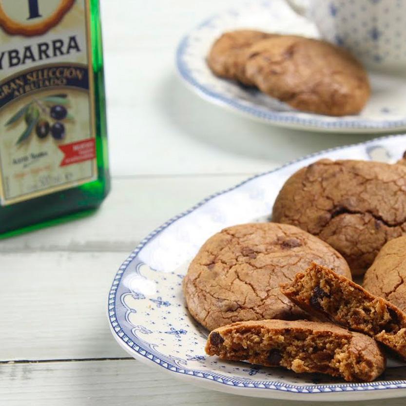 recetas ybarra cookies de ch