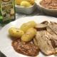 recetas ybarra cordero asado con aceite virgen extra afrutado