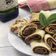 recetas ybarra crepes con turron y aceite de oliva afrutado