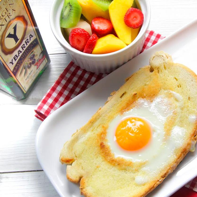 recetas ybarra desayuno saludable con aceite virgen extra