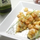 recetas ybarra dorada con gamas al ajillo y aceite virgen extra