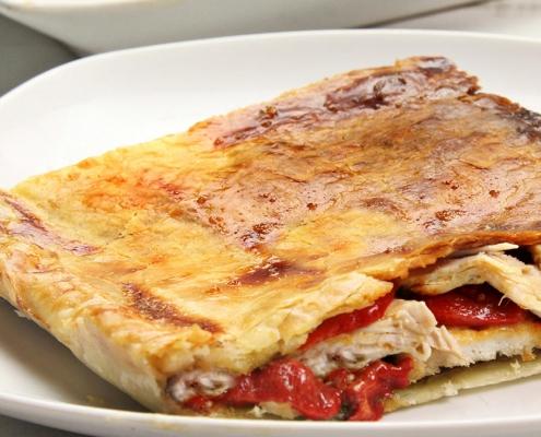 recetas ybarra empanada de pollo con hojaldre