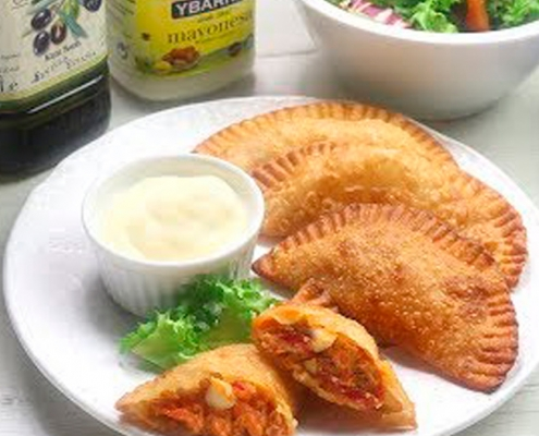 recetas ybarra empanadillas de atun con aceite virgen extra y mayonesa